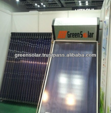 S-Series GS-40 Selective Anode Oxidation Coating Green Solar Water Heater