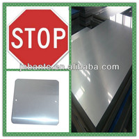 Road Safety Stop Street Aluminum Sign Blank