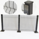 pvc high security fence 358 security fence prison mesh security screen mesh