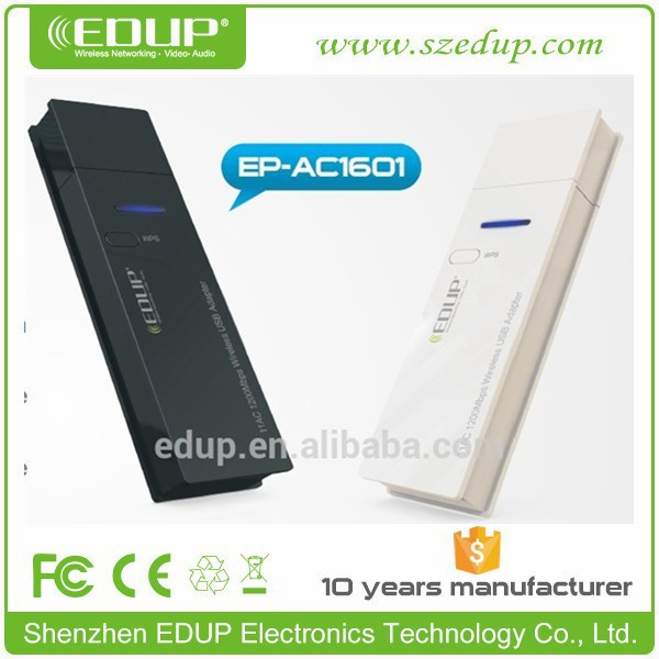 2015 Best Seller 802.11 a/c 4g Dual Band 2.4ghz / 5ghz USB Wireless Adapter Wifi Module for Laptop Android Tablet EP-AC1601