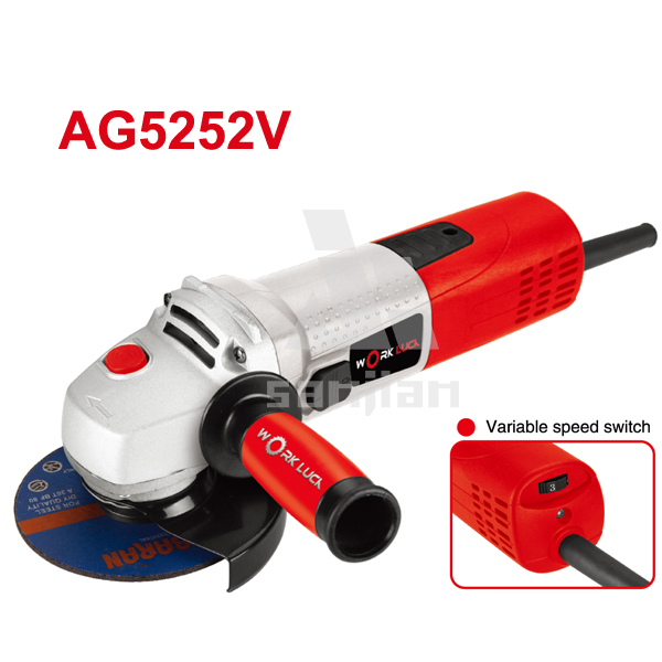 Angle Grinder 900W 115/125MM Power Tool AG5252V small stone grinder