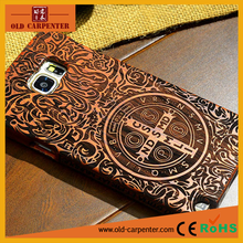 Wholesale luxury rose wood mobile phone protection case