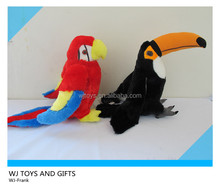 2014 kids gift soft toys plush bird