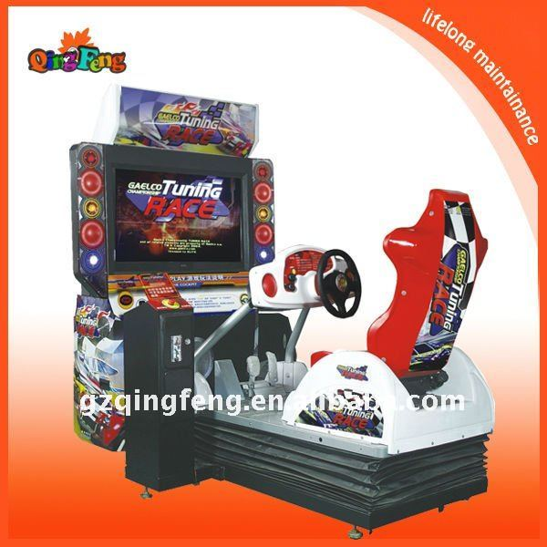 Vietnam very attractive race car simulator arcade game machine supplier-Tuning race-(MR-QF293)