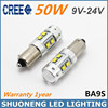 Stable Performance 9V 24V T4W BA9S 50W LED Clearance Truck Light