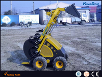 380kg load capacity Mini loader, mini skid steer loader on sale
