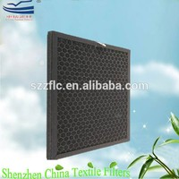 Primary efficiency activated carbon odor absorbing material