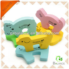 Animal shape colored rubber door stopper