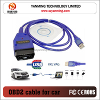 USB cable KKL VAG 409 OBD2 II Auto Diagnostic Tool