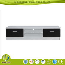 European clean modern style wooden white TV stand/liquid crystal TV ark