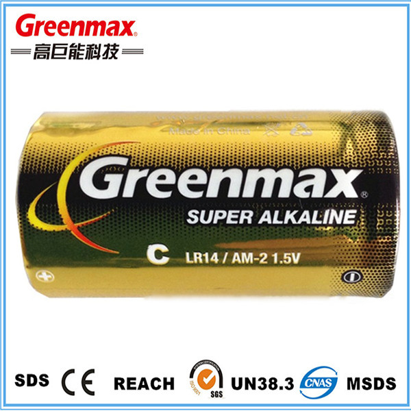 Original primary dry c/lr14 batteries 1.5v