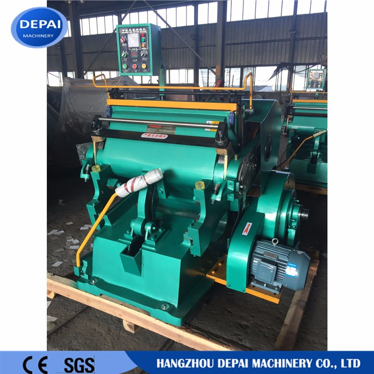 paper creasing die cutting machine for paper box used for box making