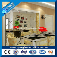China Manufacturer Colored 6mm Mirror Stained Glass Sheet For Sale