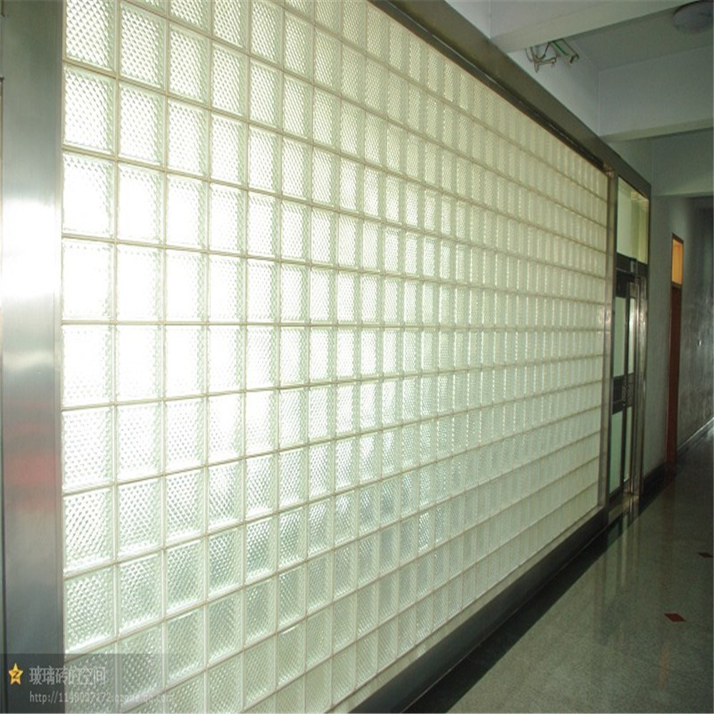 best prices 190x190x80mm Colored and Clear Glass Block Glass Brick