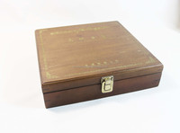 Cheap handmade wood box, wine box, essential oil bottle box, tea box, wood storage box for home storage or gift