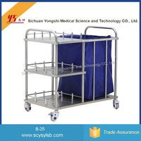Cheap Mobile Medical Dressing Laundry Collecting Cart
