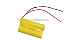 nicd aa 500mah 2.4v rechargeable battery pack ni-cd for Remote Control Car,cordless phone, solar lighting, shaver