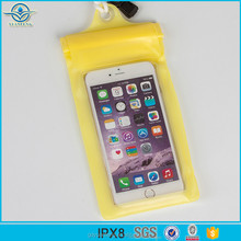 Universal Water Proof PVC Pouch Waterproof Cell Phone Pouch for Camping