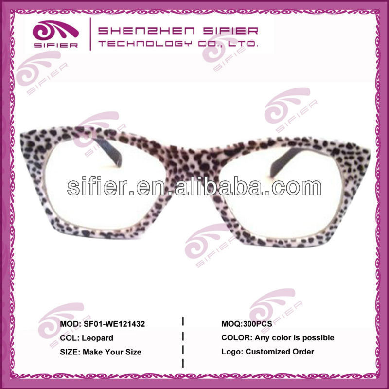 2014 New Women Eyeglasses Fake Designer Reading Glasses