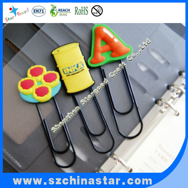 PVC solf paper clip distribution products