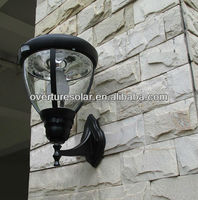 LED Outdoor Security Wall Lights/ Dusk to Dawn Light Sensor/Motion Activated Protection,/ 19-led solar powered lightings lamps