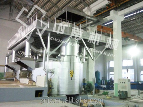 5T-50T Tilting type regenerative aluminum melting furnace melting furnace