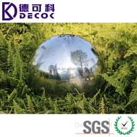 Stainless Steel Hollow Drilled Ball Home Garden Ornament Made in China