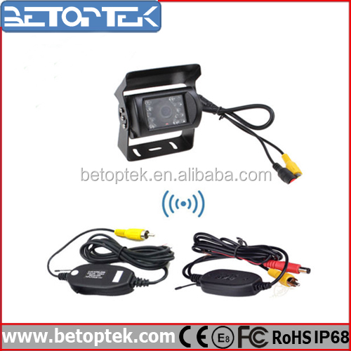High Def Waterproof Truck Car Reverse Backup Wireless Rear View Camera for Parking