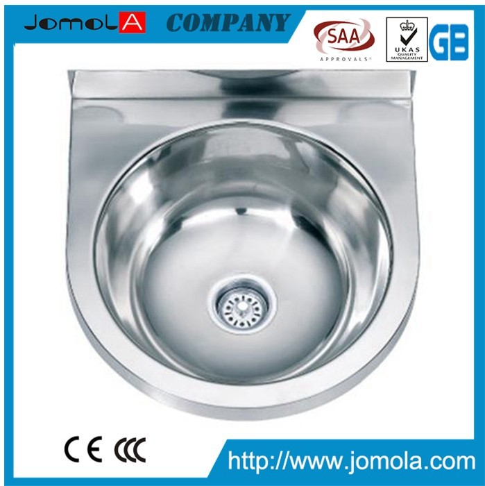 China stainless kitchen sink with big bowl JS-3736