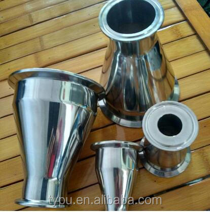 Stainless Steel SMS Sanitary Triclamped Concentric Reducer