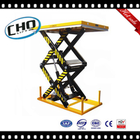Factory Direct Sale Stationary Double Scissor Electric Table Lift
