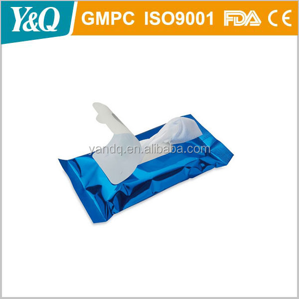 Hot selling pocket finger teeth whitening wet wipes