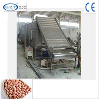 professional manufacture continuous mesh belt drying machine for peanuts/hot air circulation