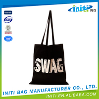 Promotional top quality blank canvas messenger bag