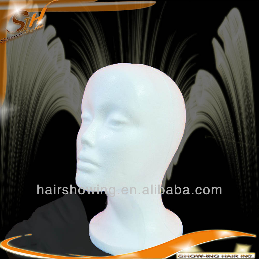 Wholesales Various wig hat cap necklace microphone display foam head
