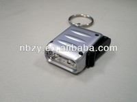 2014 new product from China factory 2LED Mini hand shake led lamp /dynamo light with ring/rechargeable keyring flashlight