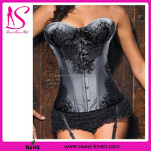 Top Sexy 2016 Spandex/Polyester Material party corsets and bustiers for women