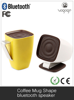 2016 Alibaba China Music Coffee Cup Bluetooth Speaker for Tablet Mobile Phone