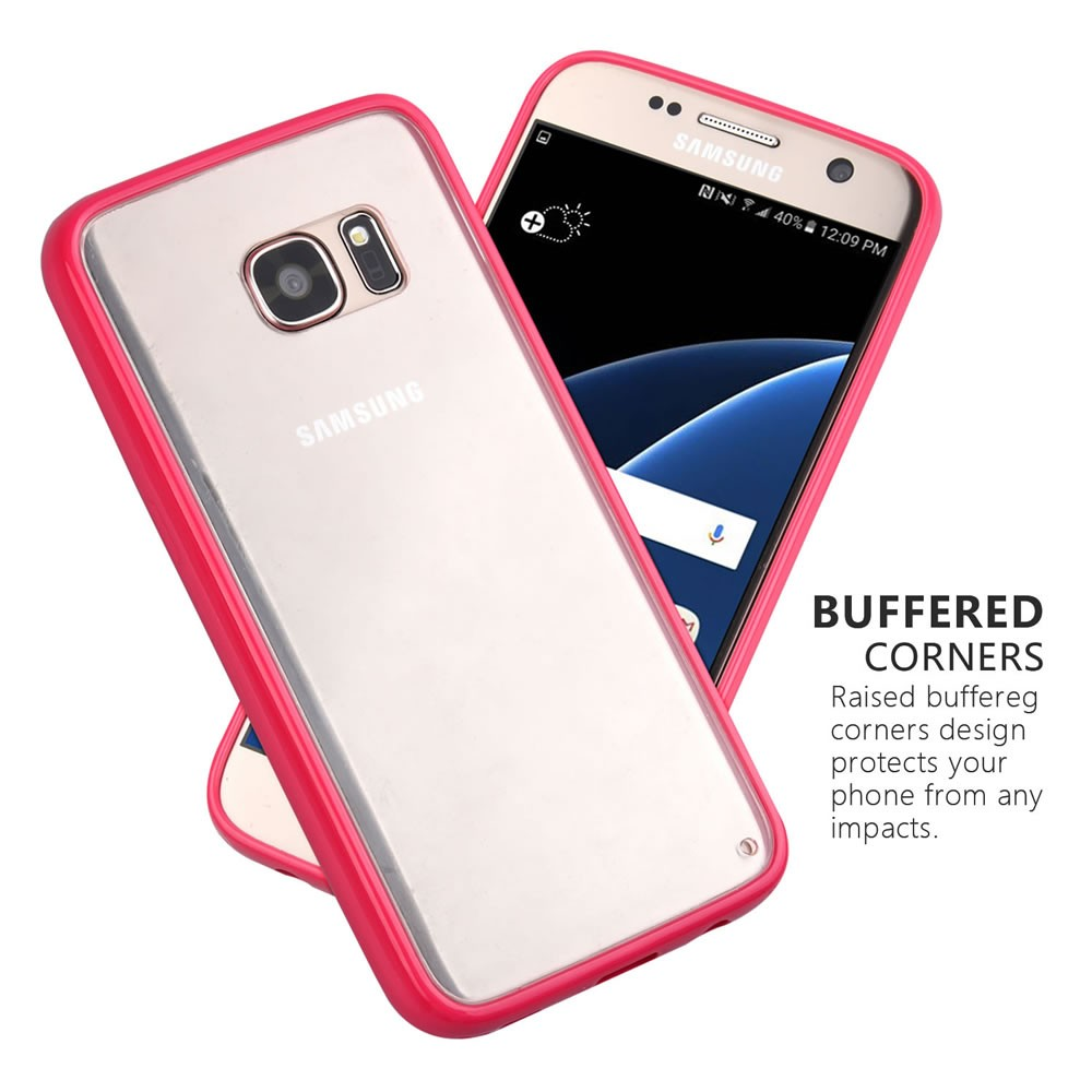 Crystal Case for Samsung s8 Clear PC Back+TPU Bumper Phone Case for Samsung Galaxy S8