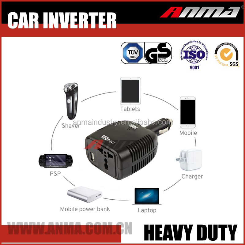 DC AC Mini 150W Car Power Inverter