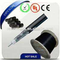 RG6 Coaxial Cable Quad Shield F6Q Chinese manufacture coax cable