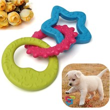 Wholesale 3 In 1 Rubber Funny Pet Chew Toys For Cat Puppies Dog Play Dental Teething Healthy Teeth Gums Resistant Bite Training