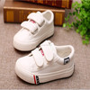 2015 Wholesale boutique high top kids canvas shoes children school shoes