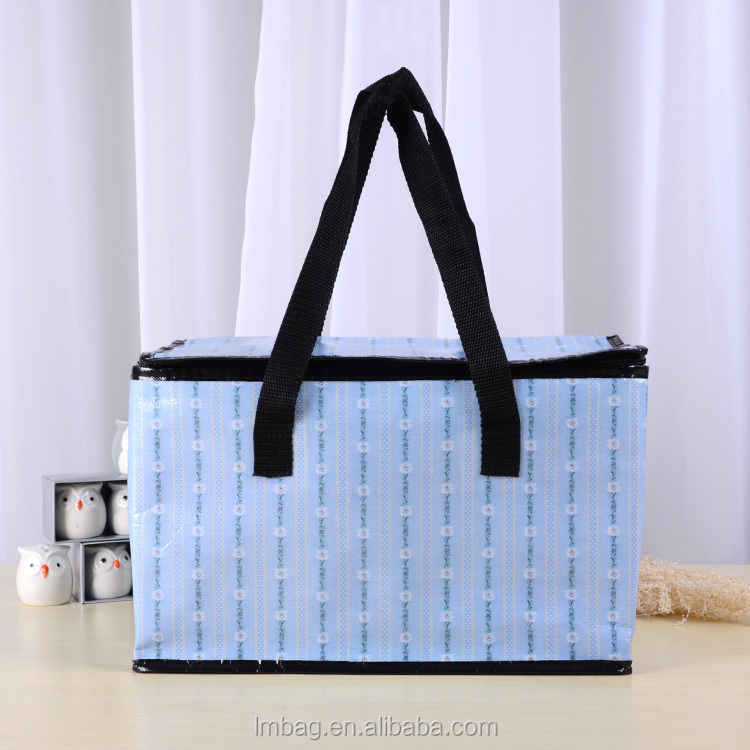 China customed non woven grocery cooler bag shoulder bag
