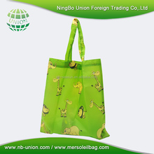 foldable shopping bag with strap