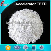 Pale yellow or white powder chemical formula of natural rubber TETD