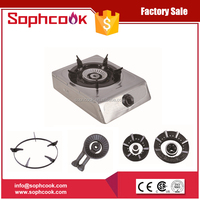 One Burner Table Top Gas Cooker / Gas Burner / Gas Stove with CE certificate