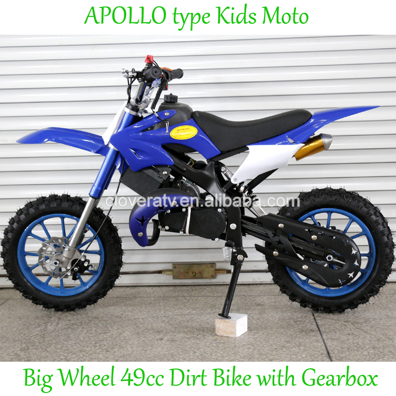 Gas Powered Kids Motorcycle 49CC Mini Dirt Bike Cross Motor