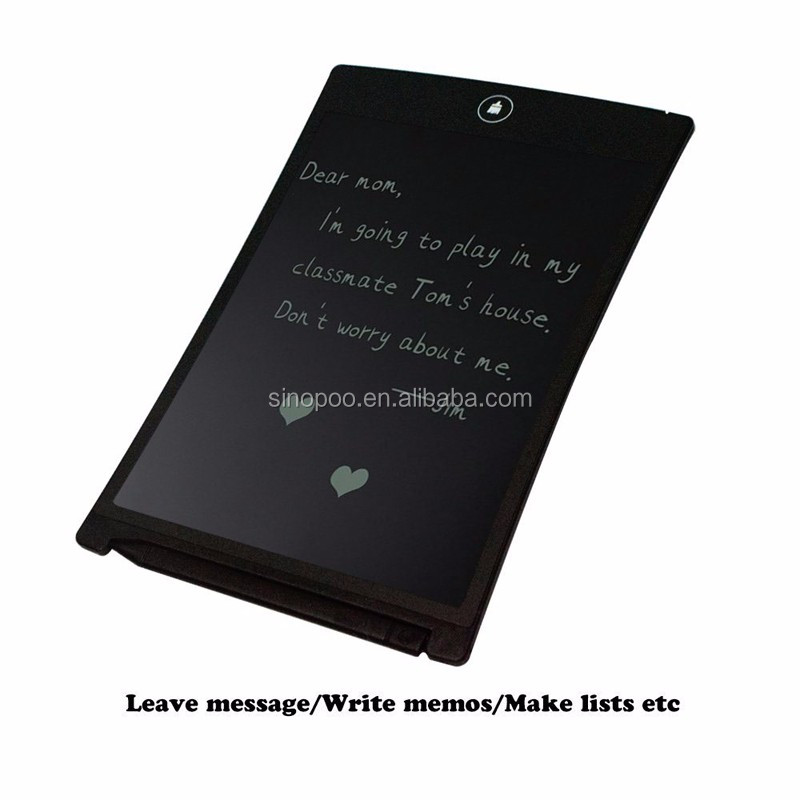 8.5 inches Environmental Portable Boogie LCD Writing Tablet with New LCD Panel for Kids Children As Christmas Gifts