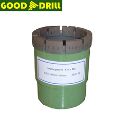Impregnated diamond core drill bit/coal mine drill bit/diamond core drill bits for rock drill machine